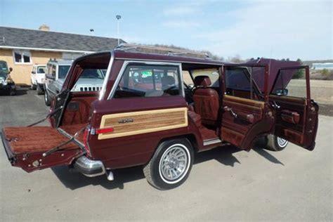autotrader jeep autotrader find mint jeep grand wagoneer for 50 000