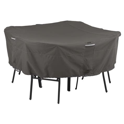Patio Table And Chair Covers Rectangular Classic Accessories Veranda Large Rectangular Patio Table And Chair Set Cover 70932 The Home Depot