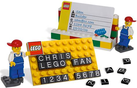 Lego Gift Card Holder - lego desk business card holder
