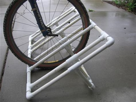 diy bike rack pvc diy bike rack for outside would make the garage bike area