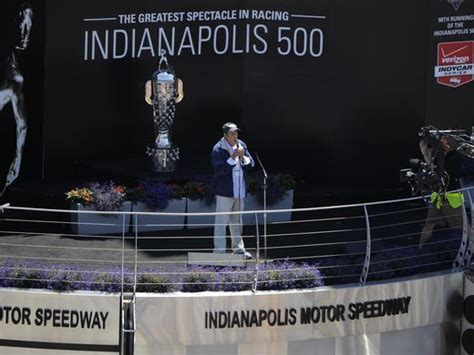 indy 500 sights andrew luck says hello jim nabors says