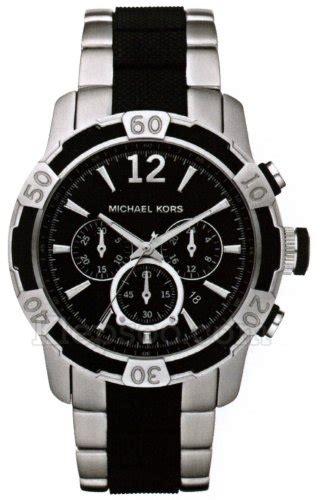 michael kors watches mk8199 mens two tone chronograph