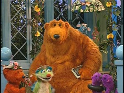bear inthe big blue house morning glory bear in the big blue house early to bed early to rise dvd review