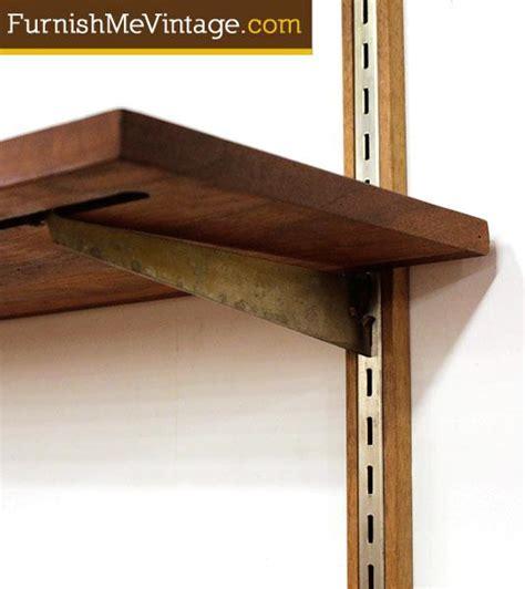 mid century modern wall mounted shelves shelves mid century modern wall mounted shelving system