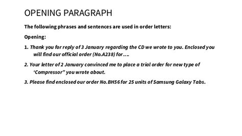 Wrong Purchase Order Letter Bussiness Bab Purchase Order Letter