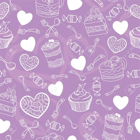 cute girly patterns drawn background cute girly pattern pencil and in color