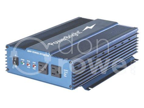 Greentek Power Inverter 600 Watt Charger 600 Watt donrowe power bright aps600 12 600 watt sine wave power inverter