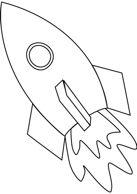 coloring page rocket ship space ship coloring pages