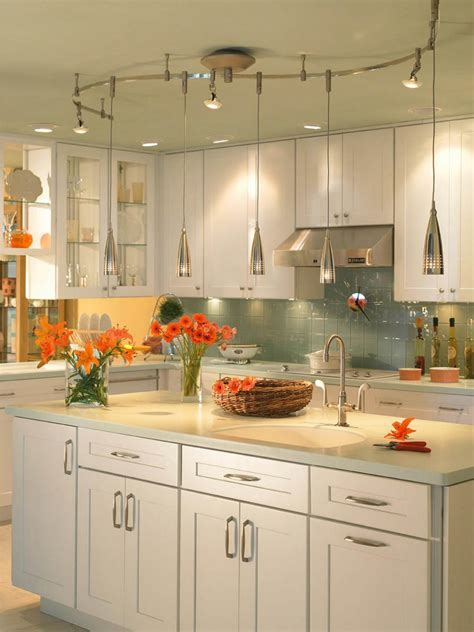 kitchen track light fixtures kitchen lighting design tips diy