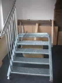 treppen verzinkt au 223 entreppe treppe treppen stahltreppe verzinkt stahl