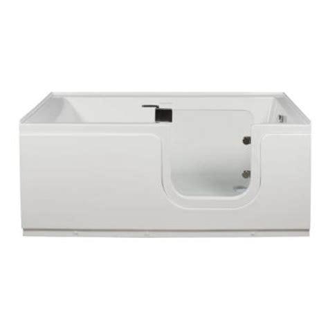 Freestanding Tub Right Drain Homeward Bath Aquarite 5 Ft Right Drain Step In