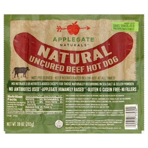 uncured dogs applegate uncured beef from food instacart