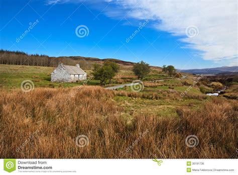 Farm Style House Plans isle of skye landscape in scotland royalty free stock