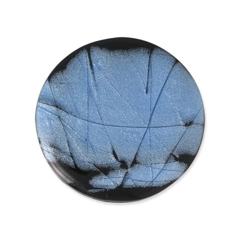 Handcraft Uk - handcraft polymer clay cabochon puck 30 mm with a groove