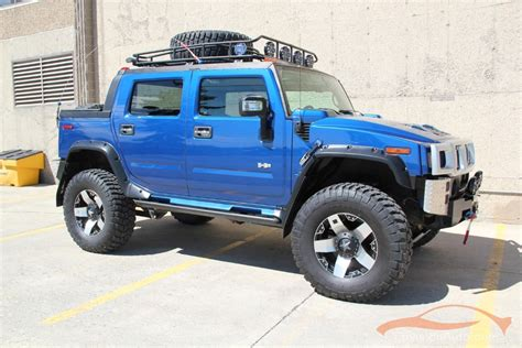 monster hummer 2006 h2 hummer sut monster lifted supercharged wow