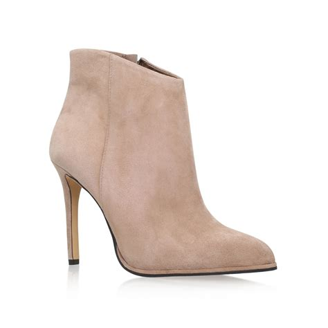 Yummi Ankle Heels vince camuto lorenza high heel ankle boots in pink lyst