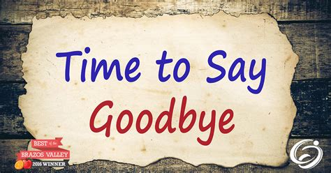 Time To Say Goodbye the value of visitation a time to say goodbye