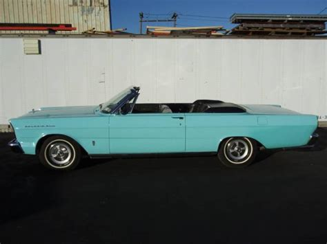 electric and cars manual 1965 ford thunderbird engine control 1965 ford galaxie 500 electric convertible top 65000 miles baby turquoise blue for sale photos