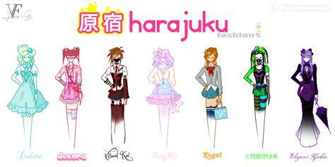 design art styles harajuku fashion styles by neko vi on deviantart