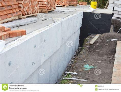 insulating exterior foundation walls foundation