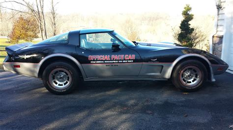chevrolet mile of cars 1978 corvette pace car low for sale in