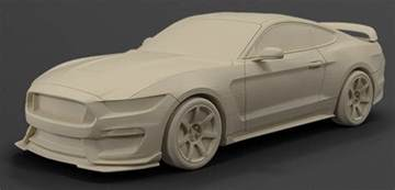 ford launches 3d printed model car shop print