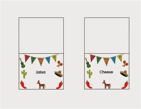 A5 Tent Card Template by Avery 5309 Tent Card Template