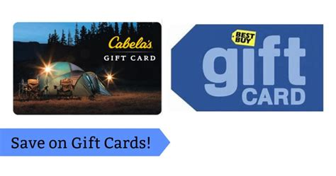 Where Can You Buy Cabela S Gift Cards - gift card deals best buy gap cabela s more southern savers