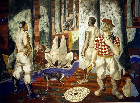 mural painting entry   forest  candido