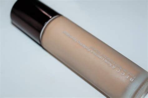 becca aqua luminous perfecting foundation in light becca aqua luminous perfecting foundation review really ree