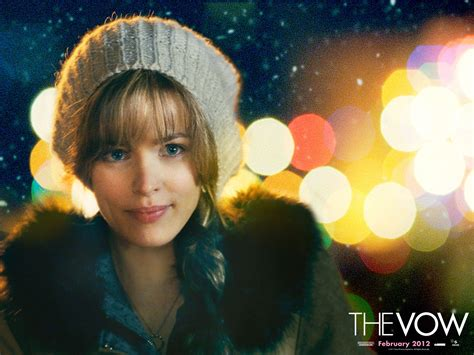 the vow sad quotes of rachel mcadams quotesgram