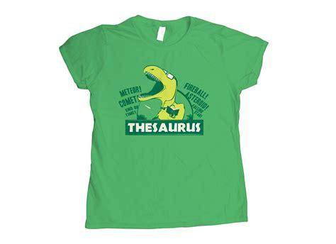 thesaurus t shirt snorgtees