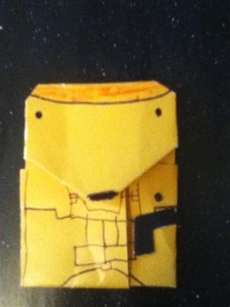 Origami Droid - origami battle droid commander origami yoda