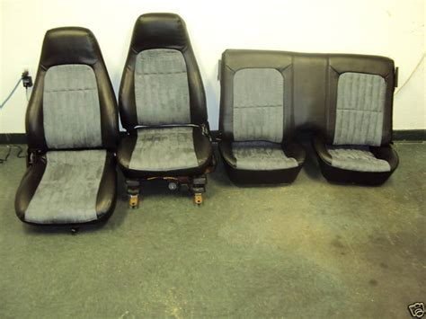 2002 camaro seat covers brand new 2002 camaro ss seats with gray suede