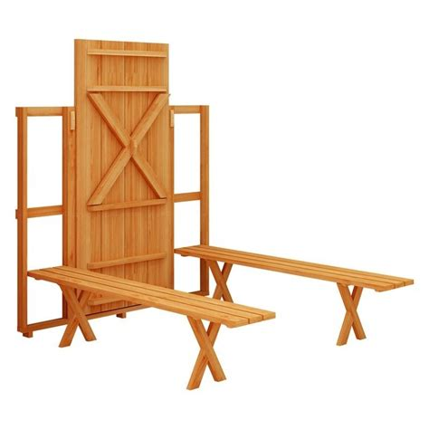 Fold Up Picnic Table   The Owner Builder Network