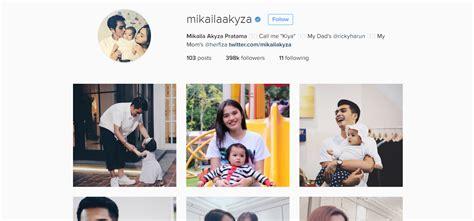 membuat instagram verified masih balita 7 anak artis ini sudah punya ratusan ribu