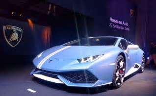 Special Edition Lamborghini Limited Edition Lamborghini Huracan Avio Launched In India
