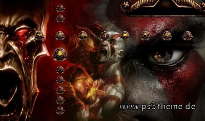 multiman themes god of war ps3 themes playstation 3 themes free download and