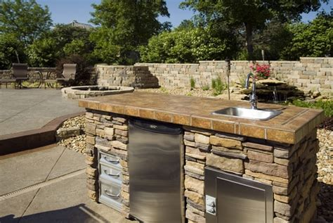 Backyard Contractors by Backyard Kitchens In Kansas City Pools By York