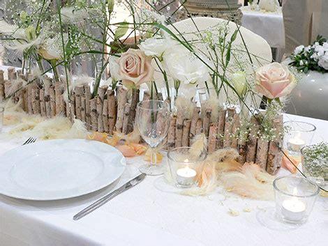 Hochzeitsdeko Federn by Federn Tischdeko Hochzeit Kreativliste