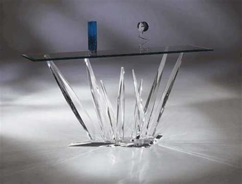 Table With Crystals Glass Sofa Table Things I