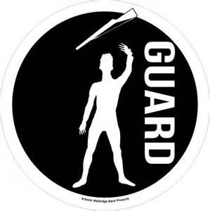 color guard accessory color guard window decal smith walbridge band