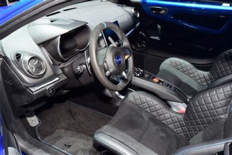 2017 alpine a110 interior new 2017 alpine a110 to make dynamic debut at goodwood