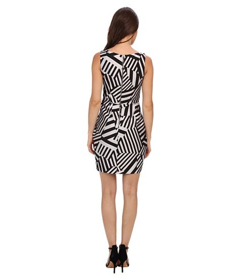 Wst 5510 Geo Dress Color Size M maggy boutique sleeveless v neck geo print