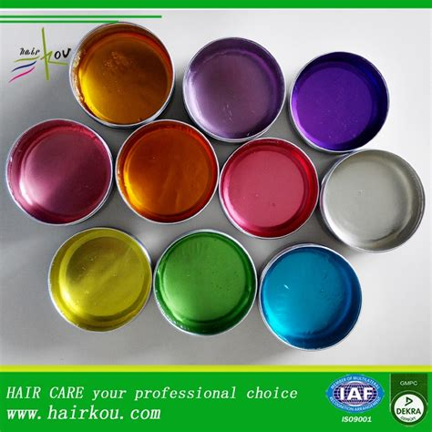Pomade Color oem hair styling hair wax one paraffin strong hold water base pomade tins buy hair wax