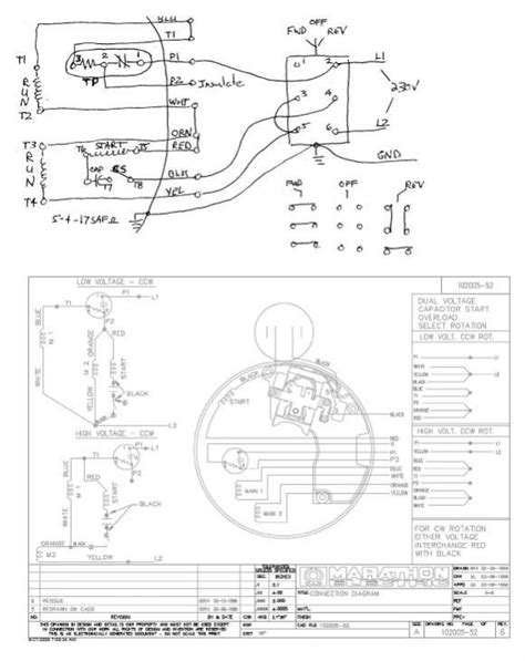 marathon 34 hp motor wiring diagram wiring diagram with