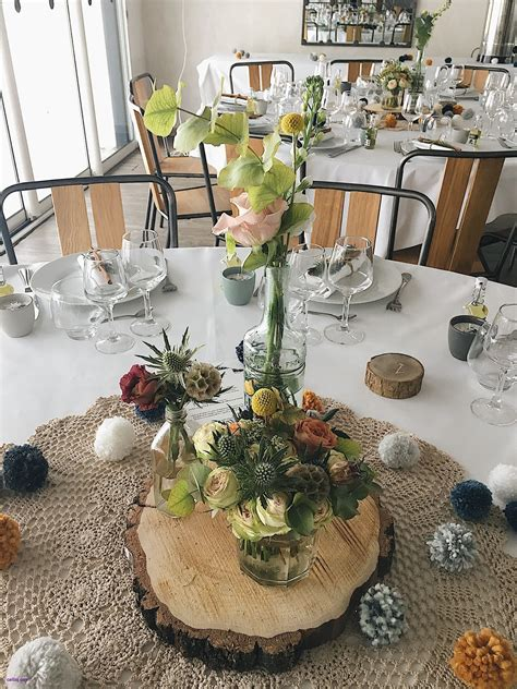 Decoration Table Nature by Deco Table Mariage Nature 201 L 233 Gant Decor Mariage Nature