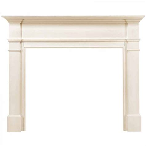 pearl mantels 48 quot the windsor fireplace mantel 120 48