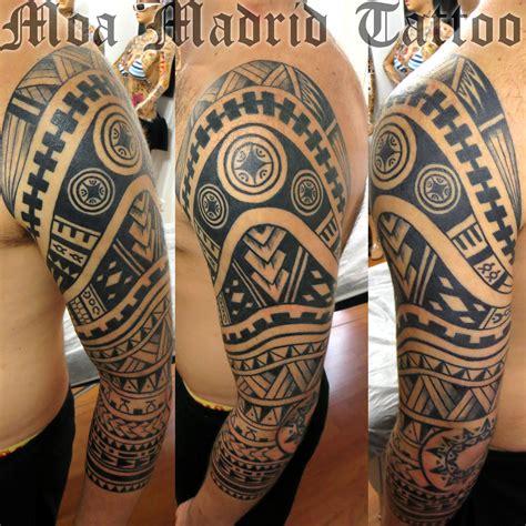 tattoo tribal en el brazo tatuaje maor 237 en pecho brazo y hombro moa madrid tattoo