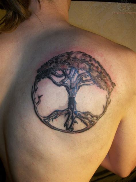 life tattoos for men the gallery for gt peace tree tattoos for